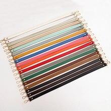 Sangle de sac réglable en cuir PU, 60cm, accessoires pour femmes, sangle de sac à bandoulière solide, accessoires de sac à main, poignées de sac