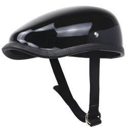 HiMISS Retro kask motocyklowy lekki kask z włókna szklanego