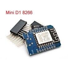 WeMos D1 Mini WIFI مجلس التنمية ESP8266 ESP 12 ESP 12F CH340G CH340 V2 USB D1 Mini NodeMCU Lua IOT مجلس 3.3 فولت مع دبابيس