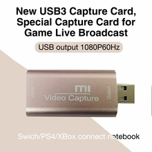 HDMI-compatible 1080P Acquisition Card Converter Electronic Machine Accessories USB3.0 Audio Video Capture Card Adapter