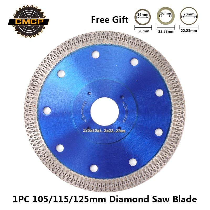 Saw-Blade Cutting-Disc Tiles Porcelain Angle-Grinder Diamond Ceramics 115/125mm 1pc