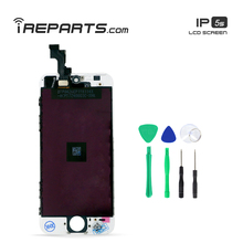 IREPARTS Mobile LCDs Display for iPhone 5s Touch Screen  Assembly No Die Pixel Pantalla + Tools Gift