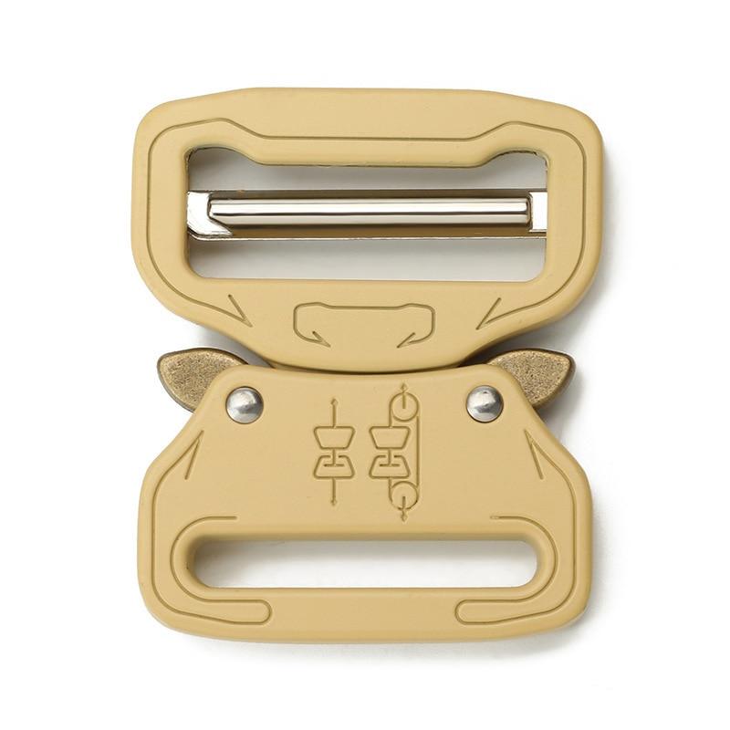 39mm Men's Outdoor Metal Belt Button Tactical Button Fast Release Socket Spot