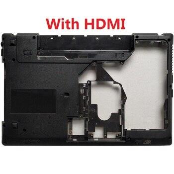 New Laptop Bottom Cover For Lenovo G570 G575 Bottom Case Base Black with HDMI Combo