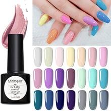 Mirineer No Wipe Top Coat Color Gel Nail Polish UV Top Coat UV Gel Varnish All For Manicure Nails Gel polish Nail Polish acrygel цена 2017
