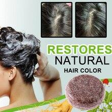 Soap Shampoo-Bar Ginseng Essence-Hair Hair-Cleansing Nourishing Silicone-Free Natural