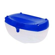 Portable Plastic Diving  Storage Box Snorkel Swimming Glasses Goggles Hard