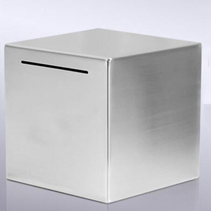 Image 2 - Safe Piggy Bank Made of Stainless Steel,Safe Box Money Savings Bank for Kids,Can Only Save the Piggy Bank That Cannot Be Taken O