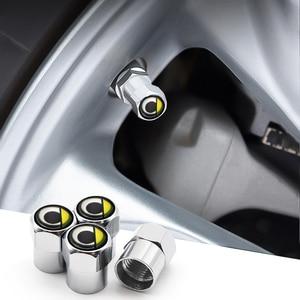 4 шт., Металлические колпачки для автомобильных колес, Противокражные колпачки с цветным логотипом бренда для smart forfour forjeremy forspeed