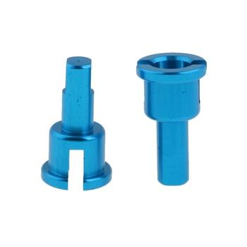 Conjunto de taza de diferencia RC de aluminio de 4 piezas para 118 WLtoys A959 Kit de accesorios de actualización de piezas de repuesto