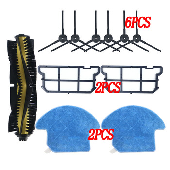 Main Brush+Side Brush+Hepa filter For ilife v7s v7 v7s pro robot Vacuum Cleaner Parts kit  for Chuwi ILIFE v7s pro chuwi ilife v7 v7s v7spro v7s plus robotic vacuum cleaner parts kit main brush side brush dust hepa filter mop cloth accessories
