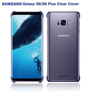 Image 2 - 100% original capa de telefone para samsung galaxy s8 + s8 mais g9550 SM G9 SM G955 galaxy s8 transparente casca dura 6 cores