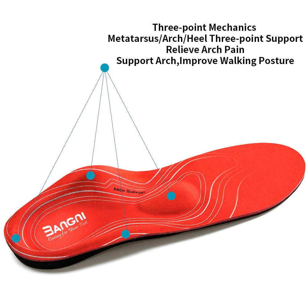 ผู้ใหญ่ orthopedic insoles สนับสนุน Arch สำหรับ FLAT Feet รองเท้า orthotic insoles Pads Man insolent รองเท้าเบาะ plantillas ortopedicas
