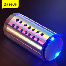 Baseus Mini Metal Car Air Freshener Aromatherapy For Air Condition Clip Car Diffuser Clean Solid Perfume Auto Outlet Freshener