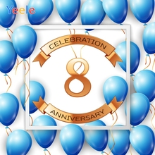 Yeele Anniversary Celebration Photocall Balloons Photography Backdrops Personalized Photographic Backgrounds For Photo Studio