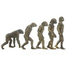 Ramapithecus Australopithecus Homo Habilis Homo Erectus Ape Man Figure Educational Palaeobios Collector Toy Model