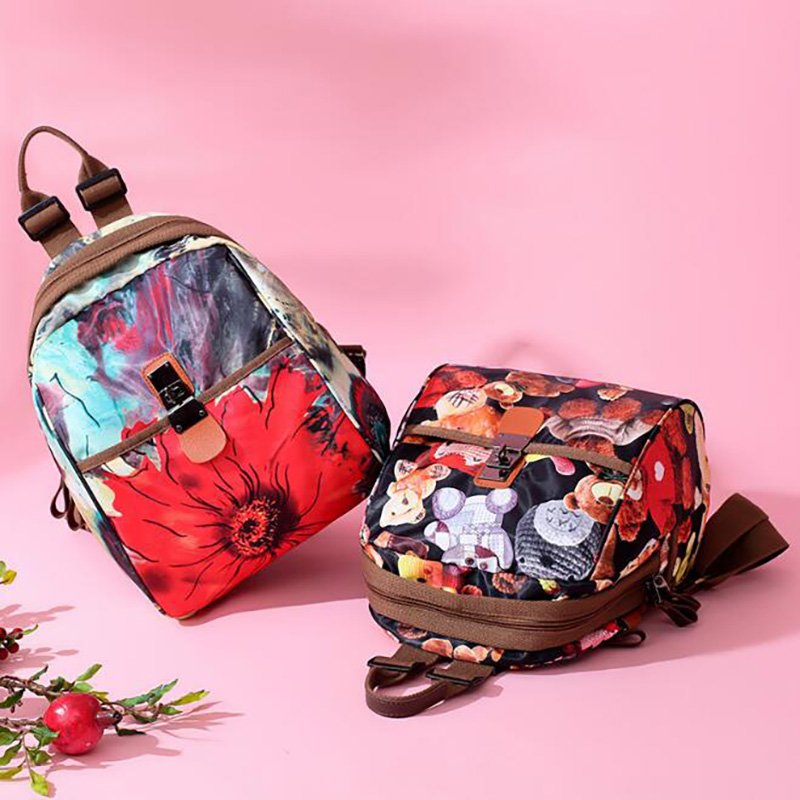 Mummy Maternity Diaper Bags Backpack For Stroller Nappy Bag Travel Printing Nursing Toddler Mother Bags BRW011