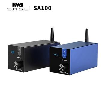 цена на SMSL SA100 bluetooth audio amplifier 50w+50w  TPA3116D2 power amplifier digital HI-FI Audio Stereo Amplifier