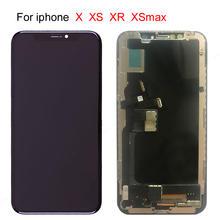 10 PCS Free DHL LCD For iphone X OLED XS XR TFT With 3D Touch Digitizer Assembly No Dead Pixel LCD Screen Replacement Display