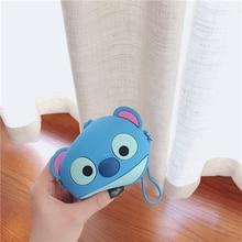 Korean Cute Cartoon Stitch Women Wallets Kids Mini Purse Money Pocket Small Change Bag Female Key Pouch Card Box Children Gifts