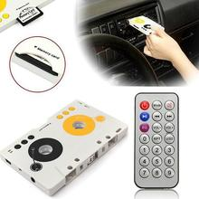 Портативный mp3-плеер, винтажный Кассетный адаптер, комплект, дистанционное управление, стерео аудио кассетный плеер, USB SD/MMC, кардридер, ЕС