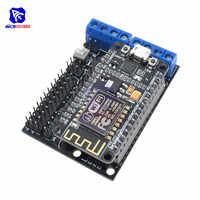 diymore NodeMCU V2 Development Kit L293N Motor Driver Shield ESP12E CP2102 ESP8266 for DIY RC Toy Remote Control IoT Smart Car