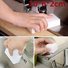100 pçs/lote esponja de melamina alta densidade mágica esponja borracha prato mais limpo para cozinha escritório banheiro limpeza 100x60x20mm