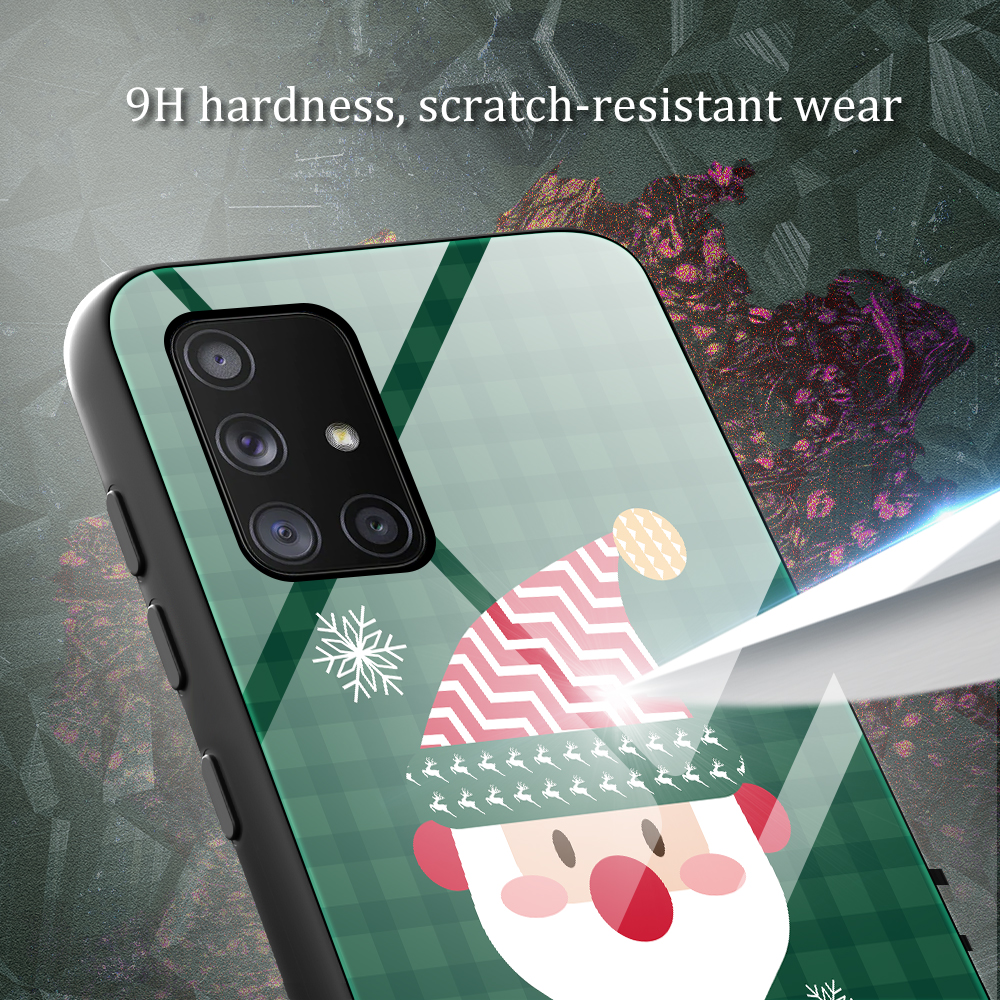 Merry Christmas Tempered Glass Case For Samsung Galaxy Note 20