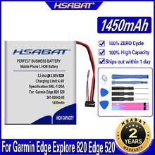 HSABAT 361-00043-00 1450mAh bateria do Garmin Edge odkryj 820 Edge 520 500 200 205 GPS Edge 520 plus Edge820 Edge 820 tanie tanio 1301 mAh-1800 mAh Kompatybilny ROHS for Garmin Edge 820 Battery for Garmin Edge 520 Battery for Garmin Edge 200 Battery