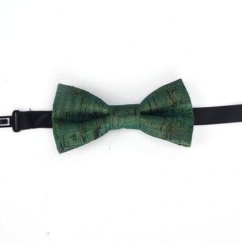 Boy's Natural Cork Bow Tie 3