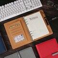 A5 ビジネスノートブックスクールオフィスプランナー文房具議題 2020 日記オーガナイザーポータブルルーズリーフ着脱式バックルギフト