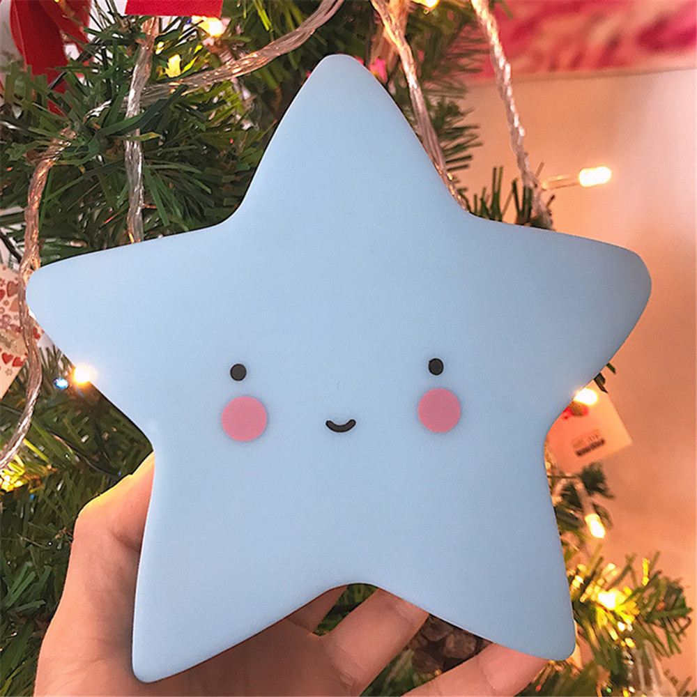 Bed LED Toy Led Night Light Baby Children's Room Decoration Bedroom Decoration Star Shape Light Baby LED Children's Night Lamps