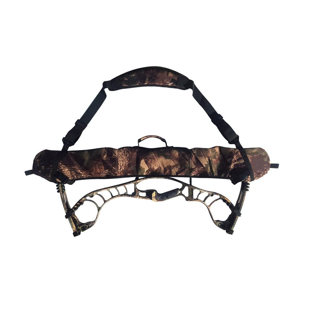 Black//Camo Neoprene Compound Bow Sling Bag Strings Protector Bow Case Bow Pouch
