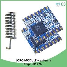 2p 868MHz super low power RF LoRa modul SX1276 chip Lange Abstand kommunikation Empfänger und Sender SPI IOT mit antenne