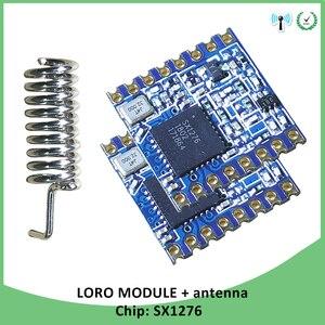 2p 868MHz super low power RF LoRa module SX1276 chip Lange Afstand communicatie Ontvanger en Zender SPI IOT met antenne