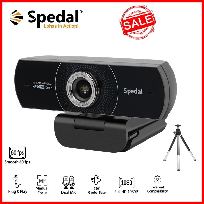 [Оригинал] веб-камера Spedal C934 HD 1080P 60fps USB веб-камера с микрофоном для ПК Twitch Skype OBS Steam для конференц-связи со штативом