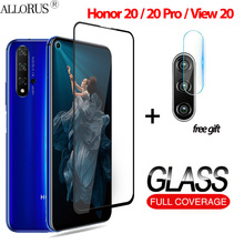 2-in-1 3D Tempered Glass For Huawei Honor 20 honor Pro Screen Protector View Camera glass Protective