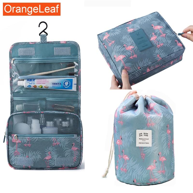 3PCS/Portable Travel Multifunction Makeup Bag Large Capacity Hook Storage Bag Waterproof Wash Cosmetic Bag