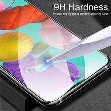 Protective Glass On For Samsung Galaxy A51 A50 A71 A40 A30 A10 A60 A70 A80 A90 Tempered Glass For Samsung A51 screen protector