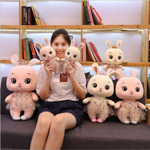 Cute Lace Dress Rabbit Doll Plush Toys Stuffed Animal Pillow Children Toy Girls Birthday Gift