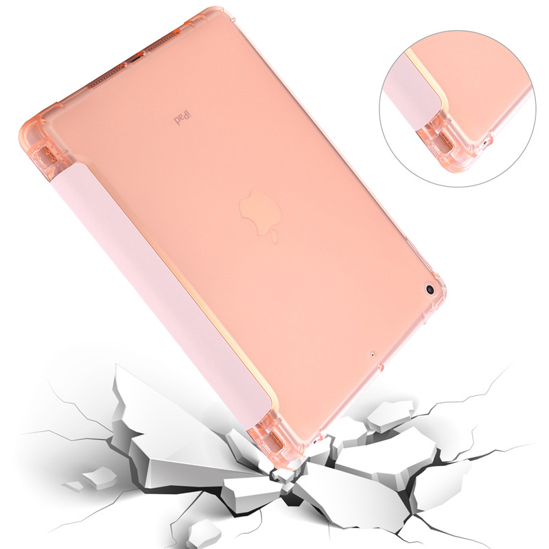 Cover For iPad 7th Generation Case 10 2 inch PU Leather Flip Stand Smart Protective Cover