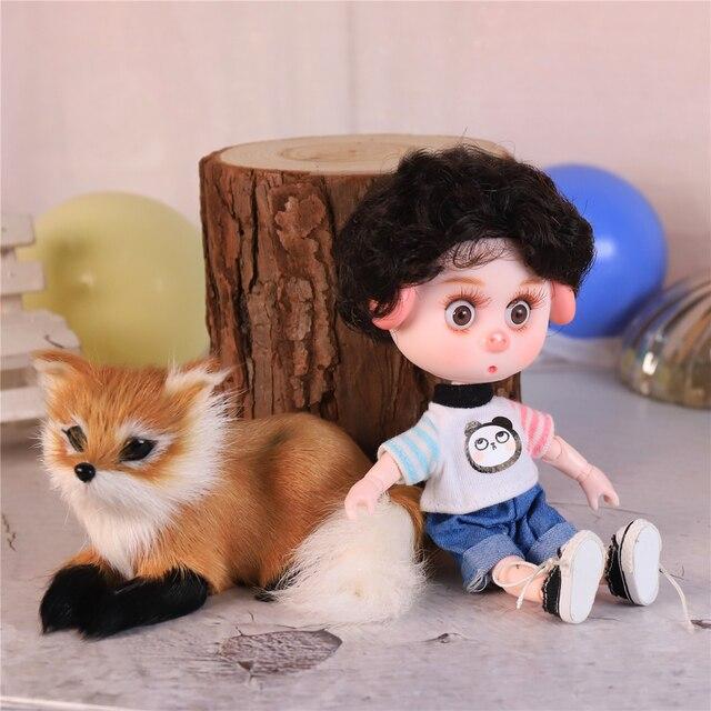 DBS Dream Fairy 1/12 BJD DODO doll 15cm doll toy ob11 mini doll with clothes shoes 2