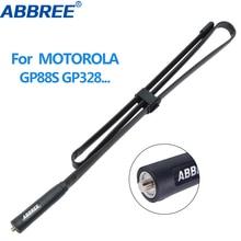 Tactical-Antenna ABBREE Motorola VHF Walkie-Talkie GP340 UHF Portable-Radio CP200