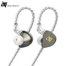 AUGLAMOUR F300 In-ear Monitor Dynamic Earphone HiFi Music Earbuds Headsets 0.78mm PIN Detachable Cable RT3 shozy neo 3ba driver in ear earphones hifi premium customized monitor iems with detachable cable
