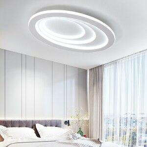 Image 2 - Plafonnier led à haute luminosité, design moderne, éclairage dintérieur, luminaire de plafond, montage en surface, idéal pour un salon, une chambre détude ou un bureau