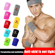 1Pair Multi Color Fitness Gym Sports Protection Wristband Support Towel Wrist Wraps