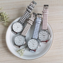 2021 female Women's New Luxury Fashion Quartz Ladies Watch Plaid Clock Dial Casual Wristwatch relogio feminino Women Watches