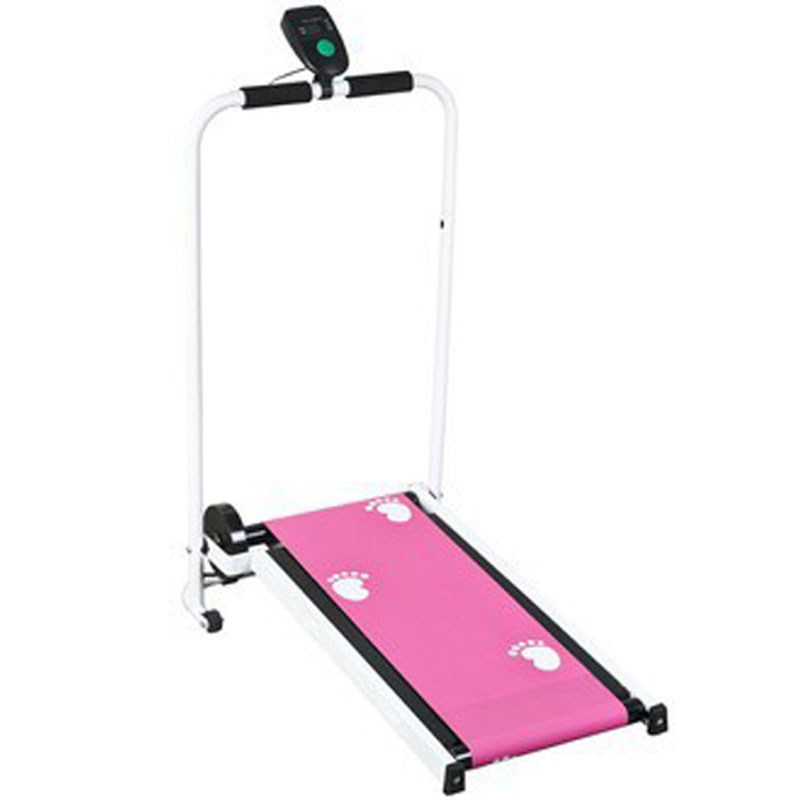 Mini Mechanical Treadmill Machine Indoor Sports Silent Portable Folding Walking Machine For Home Fitness Equipments Load 80KG