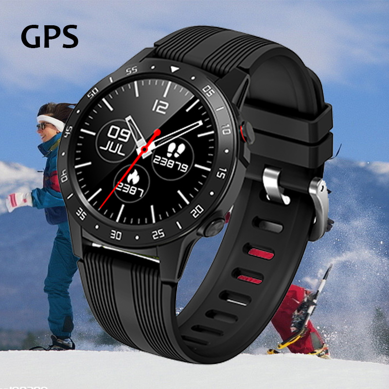 M5 Smart Watch Smartwatch GPS Women Men Compass Barometer Bluetooth Calling Outdoor Sport Fitness Tracker Heart Rate Smart Watch
