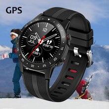 M5 relógio inteligente smartwatch gps mulheres homens bússola barômetro bluetooth chamando esporte ao ar livre rastreador de fitness freqüência cardíaca relógio inteligente